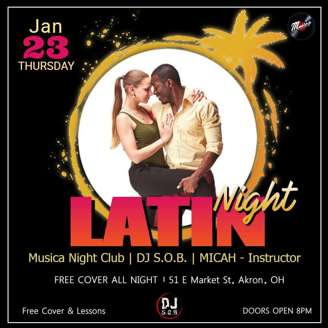 Salsa Night Jan. Edition